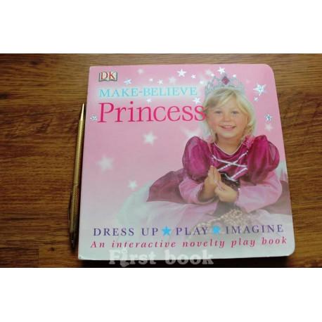 Princess play book