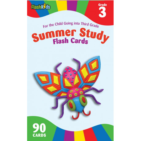 Summer Study Flash Cards Grade 3