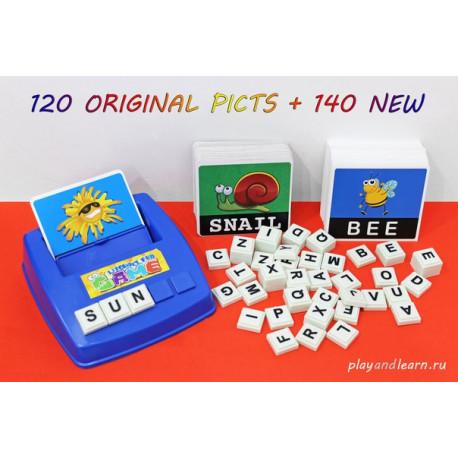 Доп.карточки для literacy fun game