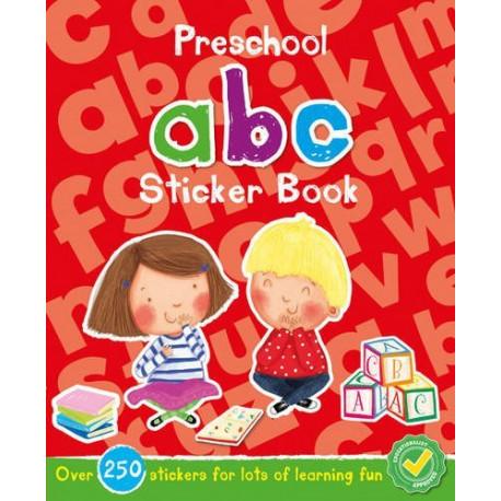 Preschool ABC Sticker Book