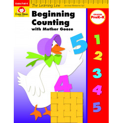 Beginning Counting with Mother Goose, Grades PreK-K