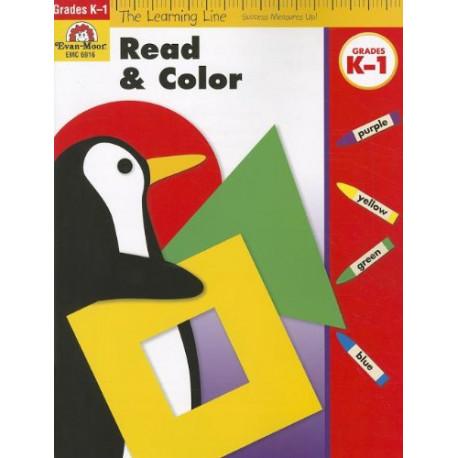 Read & Color, Grades K-1
