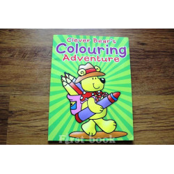 Clever Bear's Colouring Adventure