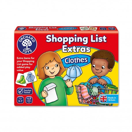 Shopping List Extras Pack - Clothes Game