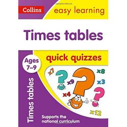Times Tables Quick Quizzes Ages 7-9