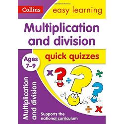 Multiplication & Division Quick Quizzes Ages 7-9