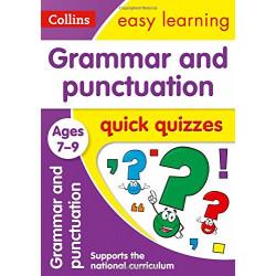 Grammar & Punctuation Quick Quizzes Ages 7-9