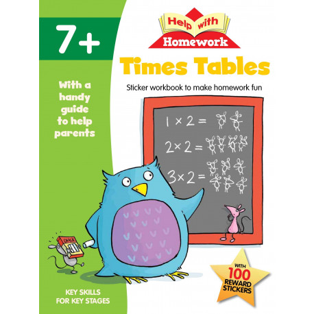 Help with Homework Times Tables 7+
