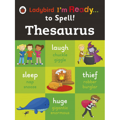 Thesaurus: Ladybird I'm Ready to Spell