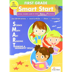 Smart Start: Science, Math, Art, Reading, Thinking, Geography - Grade 1