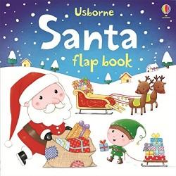 Santa Flap Book (Usborne Flap Books)