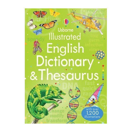First Illustrated English Dictionary and Thesaurus