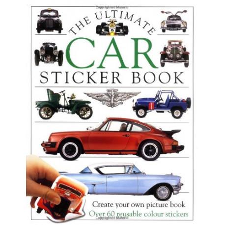 Car Ultimate Sticker Book