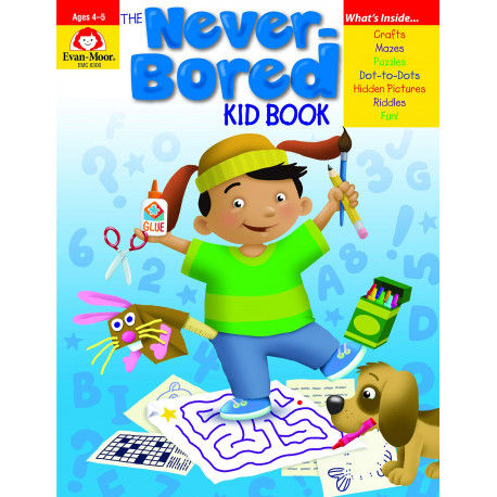 Never-Bored Kid Book, Ages 4-5
