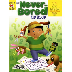 Never-Bored Kid Book, Ages 7-8