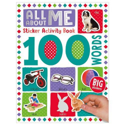 100 All About Me Words Sticker Activity