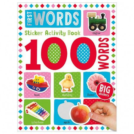 100 First Words Sticker Activity
