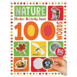 100 Nature Words Sticker Activity Book