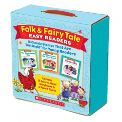 Folk & Fairy Tale Easy Readers Parent Pack: 15 Classic Stories for Young Readers