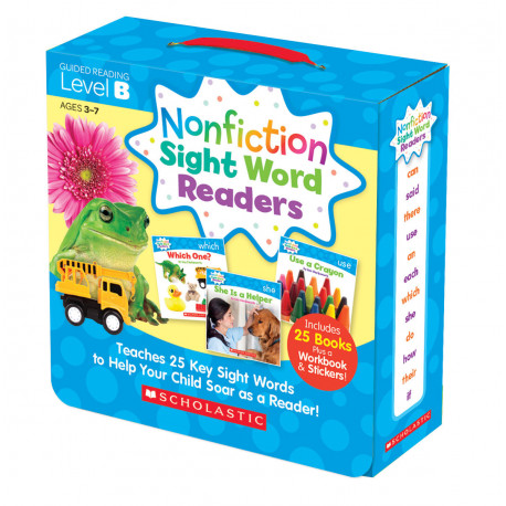 Nonfiction Sight Word Readers: Guided Reading Level B