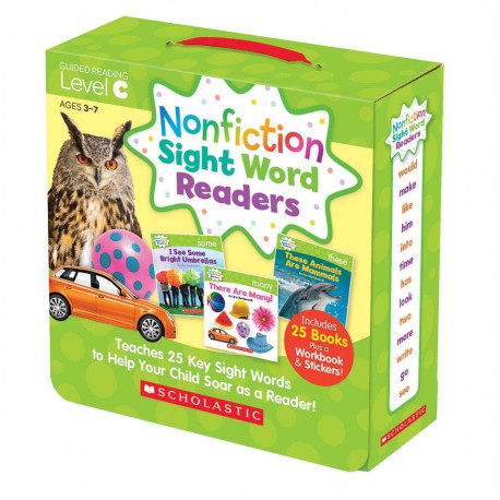Nonfiction Sight Word Readers: Guided Reading Level C