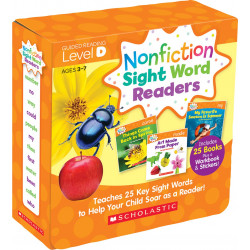 Nonfiction Sight Word Readers: Guided Reading Level D