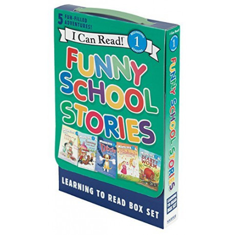 Kindergarten A-D Reader Box Set - Funny Furry Tales