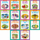 First Little Readers: Guided Reading Level E & F (16 books)
