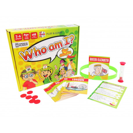 Who am I? (for adults)